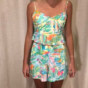 Lilly Pulitzer Linnea short and shirt set